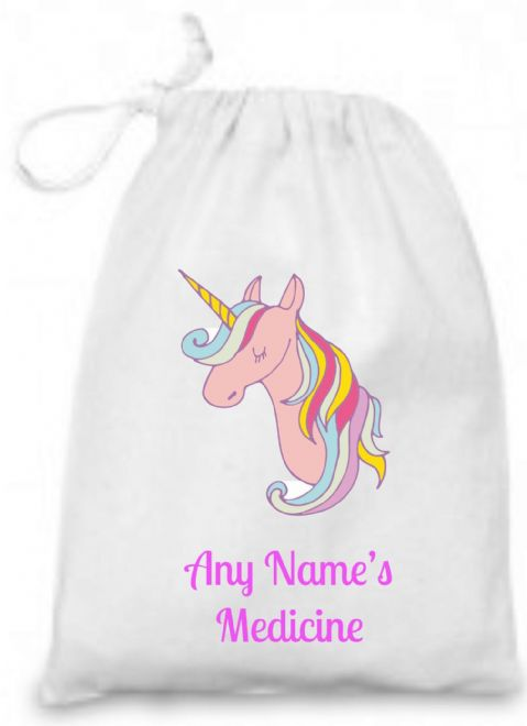 Unicorn Medicine/Inhaler Bag